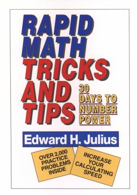 Rapid Math Tricks & Tips: 30 Days to Number Power 9780471575634