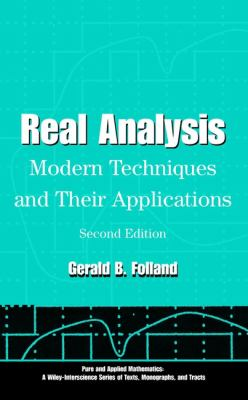Real Analysis: Modern Techniques and Their Applications 9780471317166