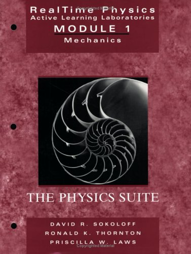 Realtime Physics Active Learning Laboratories Module 1: Mechanics 9780471487708