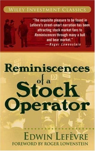 Reminiscences of a Stock Operator as book, audiobook or ebook.