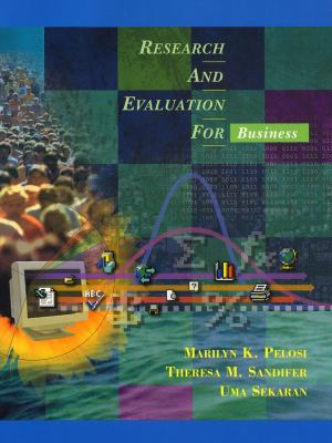 Research and Evaluation for Business [With CDROM] 9780471390886
