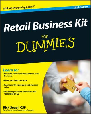 Retail Business Kit for Dummies [With CDROM] 9780470293300