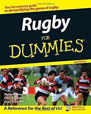 Rugby for Dummies 9780470153277