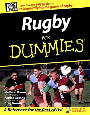 Rugby for Dummies . 9780470834053