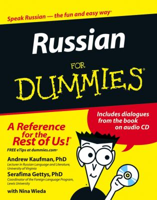 Russian for Dummies: [With CD] 9780471780014