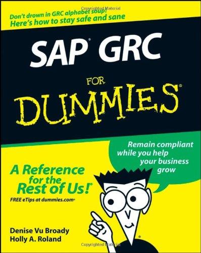 SAP GRC for Dummies 9780470333174