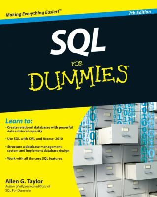 SQL for Dummies 9780470557419
