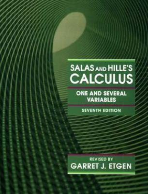 Salas and Hille's Calculus One and Several Variables 9780471587194