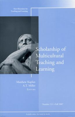 Scholarship of Multicultural Teaching and Learning 9780470223826