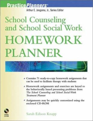 School Counseling and School Social Work Homework Planner [With CDROM] 9780471091141