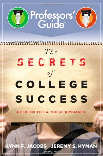 The Secrets of College Success 9780470874660