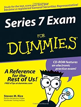 Series 7 Exam for Dummies [With CD-ROM] 9780470099322
