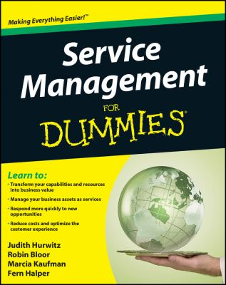 Service Management for Dummies 9780470440582