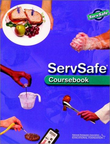 Servsafe Coursebook with Exam Answer Sheet 9780471204428