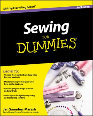 Sewing for Dummies 9780470623206