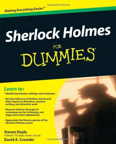 Sherlock Holmes for Dummies 9780470484449
