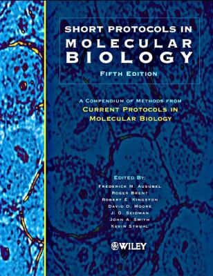Short Protocols in Molecular Biology 9780471250920