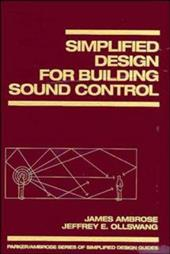 Simplified Design for Building Sound Control 1564517