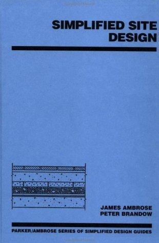 Simplified Site Design 9780471530299