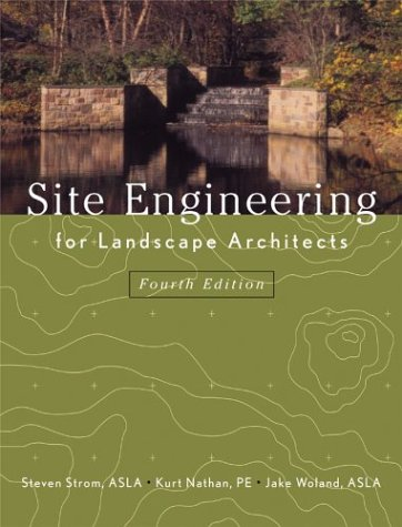Site Engineering for Landscape Architects 9780471273943