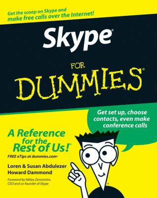 Skype for Dummies 9780470048917
