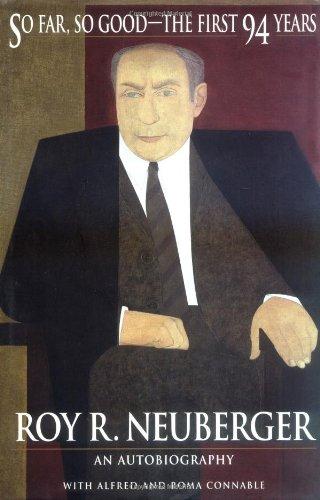 So Far So Good the First 94 Years 9780471171867