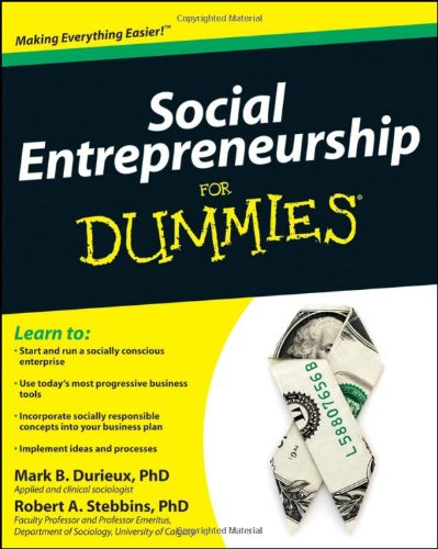 Social Entrepreneurship for Dummies 9780470538081