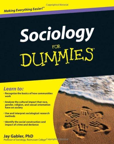 Sociology for Dummies 9780470572368