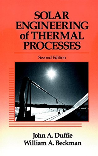 Solar Engineering of Thermal Processes 9780471510567