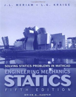 Solving Statics Problems with MathCAD 9780471150275