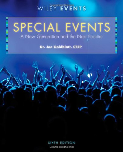 Special Events: A New Generation and the Next Frontier 9780470449875