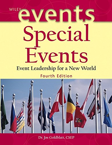 Special Events: Event Leadership for a New World 9780471450375
