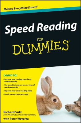 Speed Reading for Dummies 9780470457443