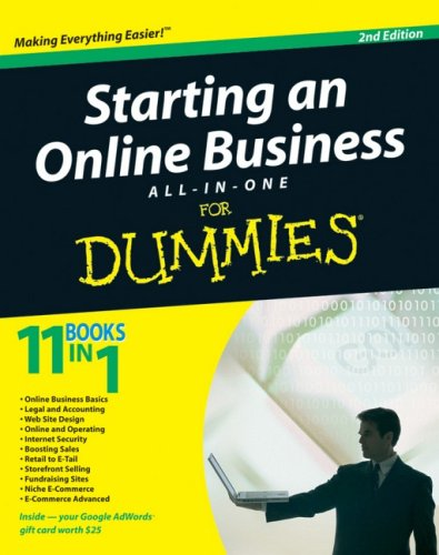 Starting an Online Business All-In-One for Dummies 9780470431962