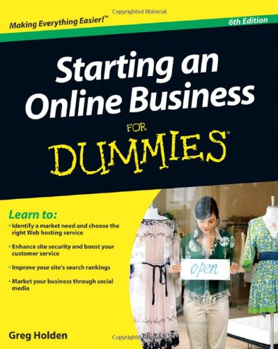 Starting an Online Business for Dummies 9780470602102