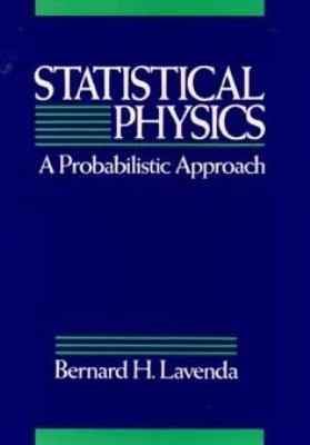 Statistical Physics: A Probabilistic Approach 9780471546078