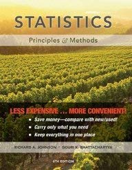 Statistics, Binder Ready Version: Principles and Methods 9780470559932