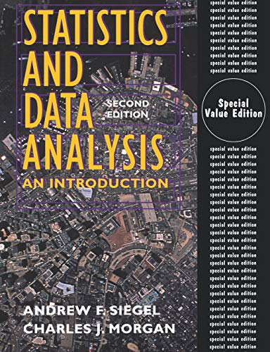 Statistics and Data Analysis: An Introduction 9780471293323