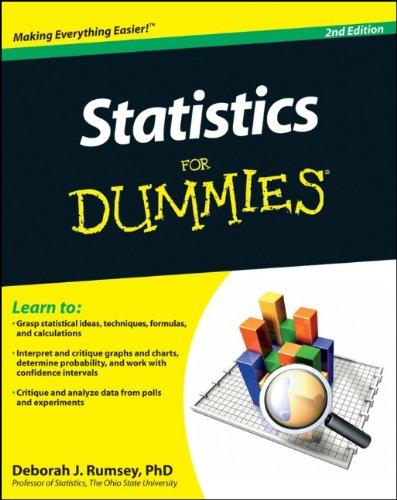 Statistics for Dummies 9780470911082