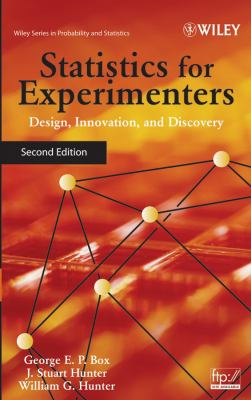 Statistics for Experimenters: Design, Innovation, and Discovery 9780471718130