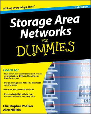 Storage Area Networks for Dummies 9780470385135