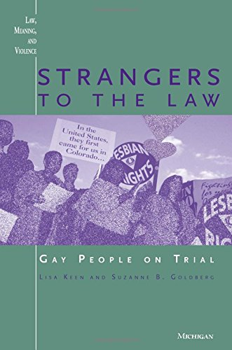 Strangers to the Law: Gay People on Trial 9780472086450