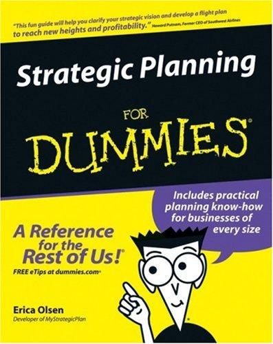 Strategic Planning for Dummies 9780470037164
