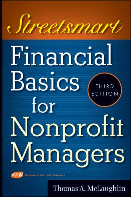 Streetsmart Financial Basics for Nonprofit Managers 9780470414996