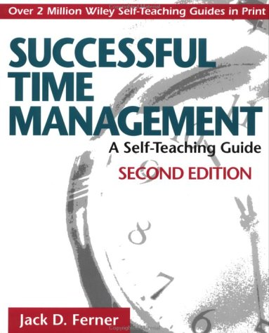 Successful Time Management: A Self-Teaching Guide 9780471033929