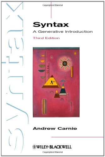 Syntax: A Generative Introduction - 3rd Edition