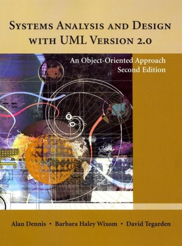 Systems Analysis and Design with UML Version 2.0: An Object-Oriented Approach 9780471348061