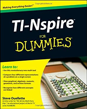 TI-Nspire for Dummies 9780470379349