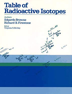 Table of Radioactive Isotopes Edgardo Browne and Richard B. Firestone