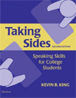 Taking Sides, Second Edition: Speaking Skills for College Students 9780472032976